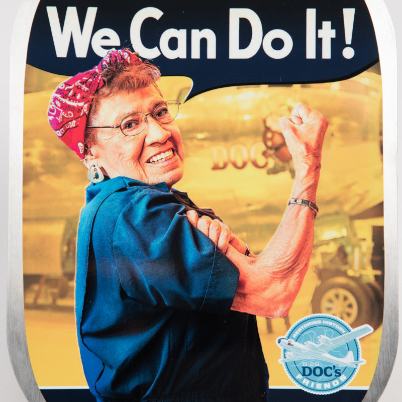 Connie - Our Rosie the Riveter
