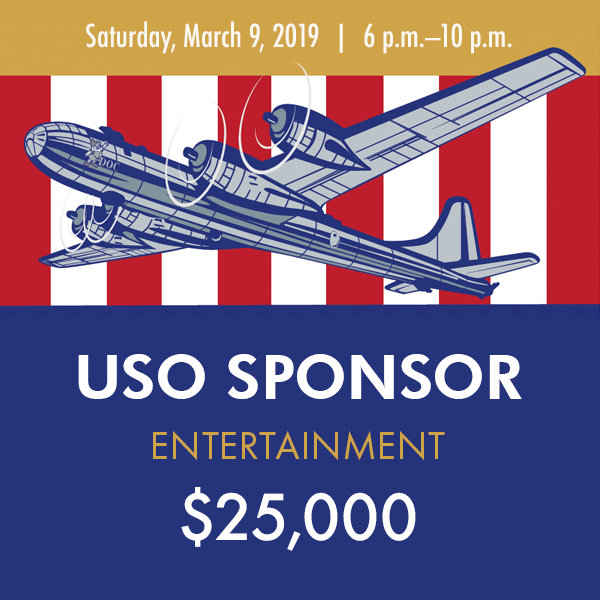 2019 Gala USO Sponsor