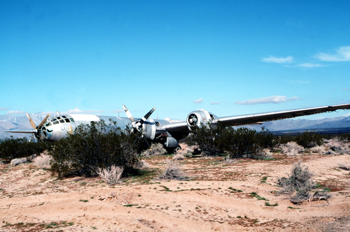 Doc B-29 found in desert
