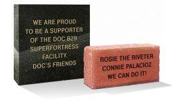 B-29 Doc engraved bricks