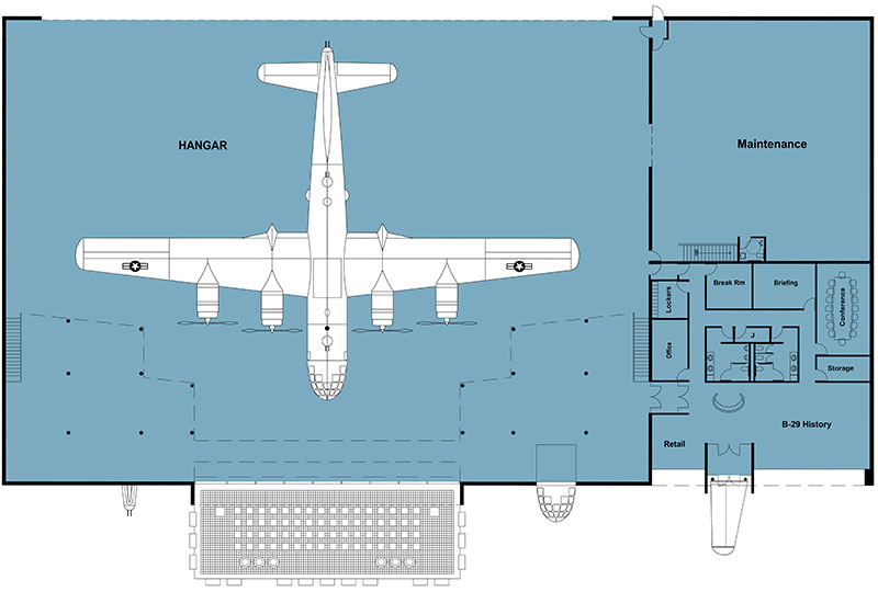 Doc hangar floorplans