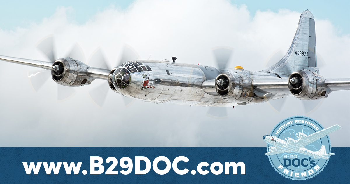 What is Doc B-29 Superfortress | Boeing B-29 Bomber | Doc's