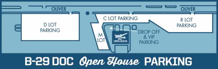 Open house parking