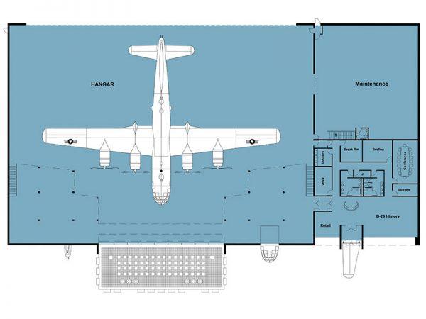hangar floorplan