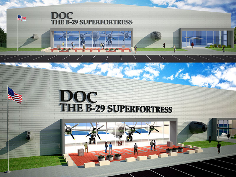 Doc's hangar rendering