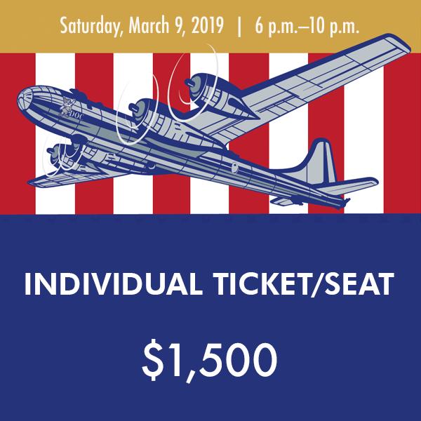 Individual ticket 2019 Gala