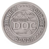 Doc B-29 challenge coin