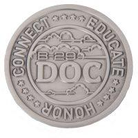 Doc B-29 challenge coin