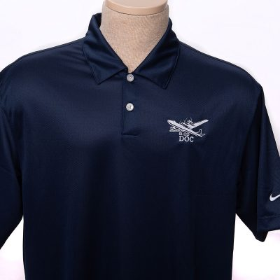 Doc B-29 navy polo