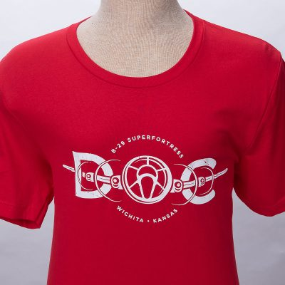 Doc B-29 red t-shirt