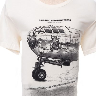 Doc B-29 nose t-shirt