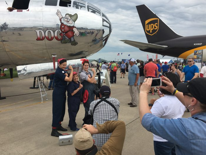 Connie & Friends at EAA AirVenture