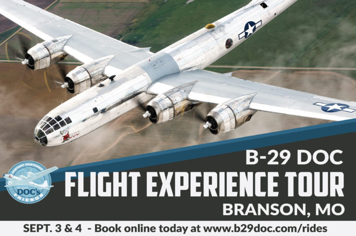 Branson, MO, Sept. 3 & 4