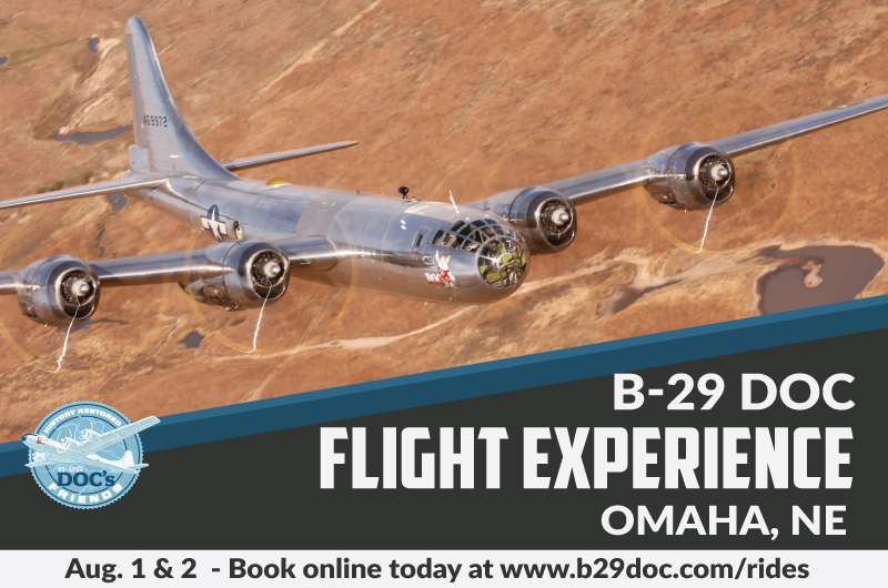 B-29 Doc - Omaha - Click to Purchase Tickets