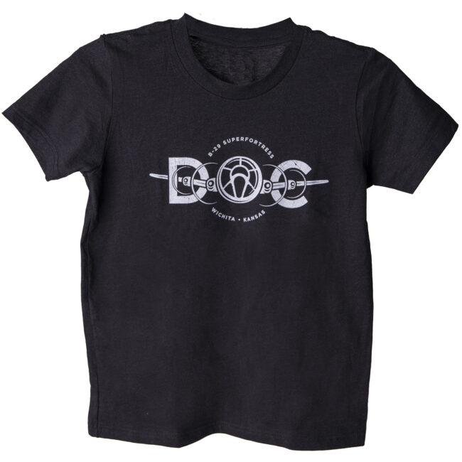 Youth Heather Black T-Shirt